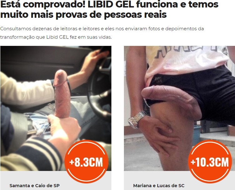 Relatos sobre o libid gel